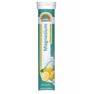 Sunlife magnesium brusetabletter